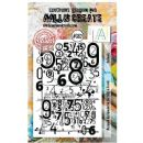 AALL and Create A7 Clear Stamp Set #382 Decimals by Bipasha BK